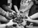 brindis, beber, alcohol, embarazo